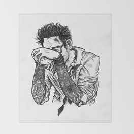 Newton Geiszler Throw Blanket