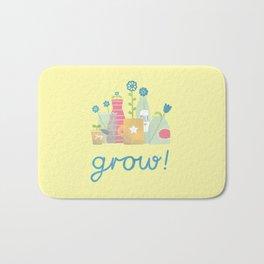 grow! Bath Mat