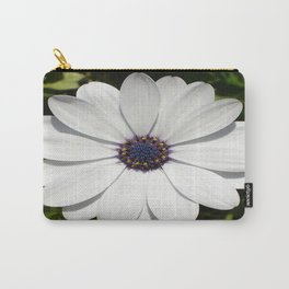 Beautiful Blossoming White Osteospermum  Carry-All Pouch