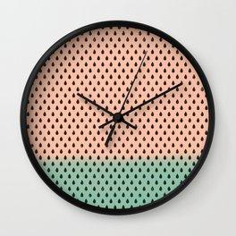 Melon Pips Wall Clock
