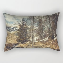 Mountain spring Rectangular Pillow