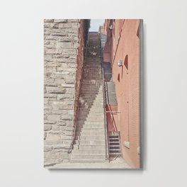 Exorcist Steps Metal Print