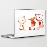 bears Laptop & iPad Skins featuring Bears by 5CUZ1