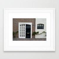 door Framed Art Prints featuring Door by Marieken
