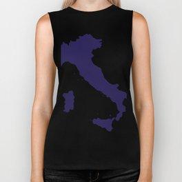 Italy map Biker Tank
