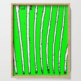 Green Seaweed Serving Tray