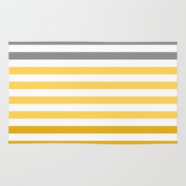 Stripes Gradient - Yellow Rug