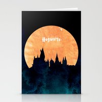 hogwarts Stationery Cards featuring Hogwarts by IA Apparel