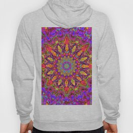 Abstract Flower AAA QQ YY Hoody