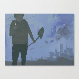 Match Canvas Print
