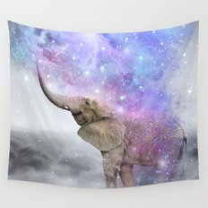 Don't Be Afraid To Dream Big • (Elephant-Size Dreams) Wall Tapestry
