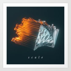 170205 / scale Art Print