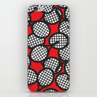 tennis iPhone & iPod Skins featuring Tennis by joanfriends