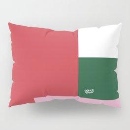 POP ART RED BLUE PINK AND GREEN #minimal #art #design #kirovair #buyart #decor #home Pillow Sham