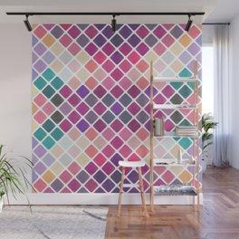 Watercolor Geometric Pattern III Wall Mural