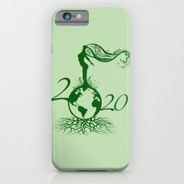 Mother Earth 2020 - Green iPhone Case