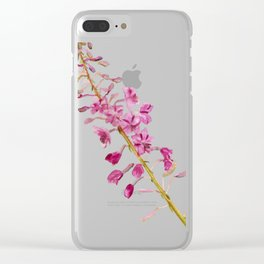 Flowers of fireweed Clear iPhone Case
