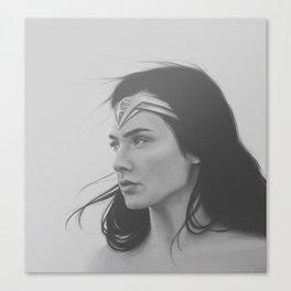 Wonder Gal Canvas Print
