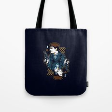 Captain Jack of Hearts Tote Bag
