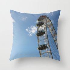 London Eye, London (2012) Throw Pillow