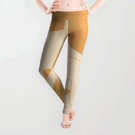 Girl Lying On The Beach 2 Leggings