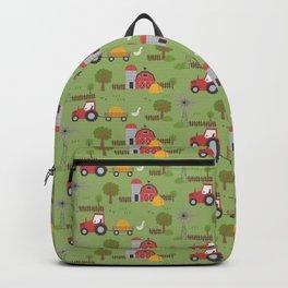Barnyard & Red Tractor Backpack