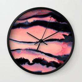 Ink 02 Wall Clock