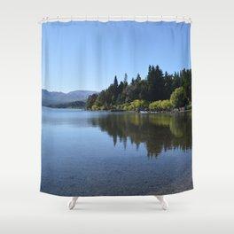 Lolog Lake, Patagonia Shower Curtain