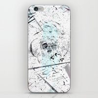 introvert iPhone & iPod Skins featuring Introvert by miguelnarayan