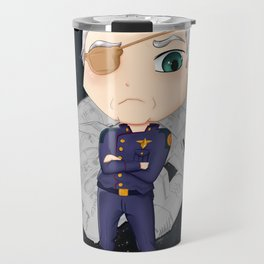 Colonel Tigh 2   Battlestar Galactica Travel Mug