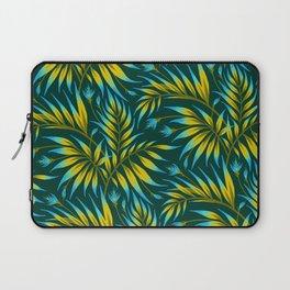 Waikiki Palm - Yellow / Blue Laptop Sleeve