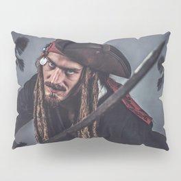 Pirate Sparrow Pillow Sham