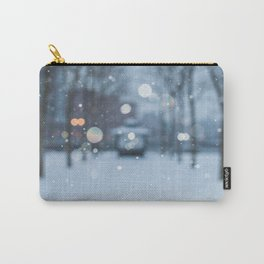 Snow in Hoboken Carry-All Pouch