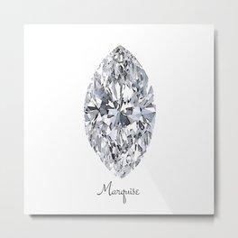 Marquise Metal Print