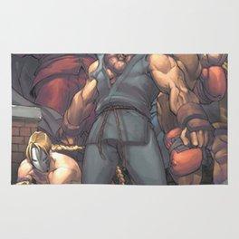 Street Fighter - Villains Rug
