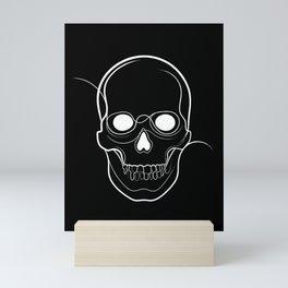 Black Skull Mini Art Print