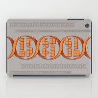 gaming iPad Cases featuring Gaming DNA by Doodle Dojo