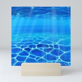 Underwater Reflections Mini Art Print