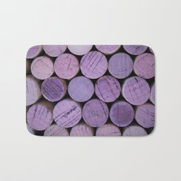 Red Wine Corks 3 Bath Mat