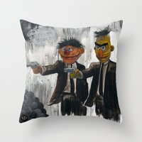 urban Throw Pillows featuring Pulp Street by Beery Method