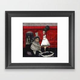 The Dressmaker. Framed Art Print