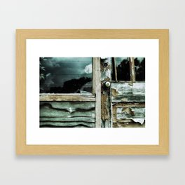 {weathered} Framed Art Print
