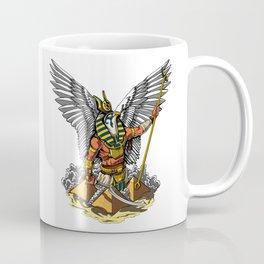 Horus Egyptian God Ancient Pyramids Coffee Mug
