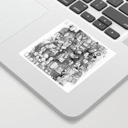 Contemporary Sticker