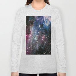 galaxy pixel Long Sleeve T-shirt