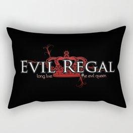Evil Regal (black) Rectangular Pillow