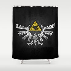 Zelda Hyrule Shower Curtain