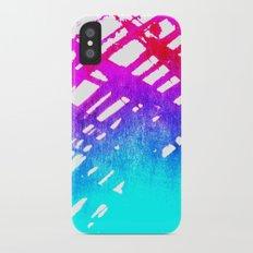 Performing color Slim Case iPhone X