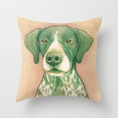 Pointer dog - Jola 02 Throw Pillow