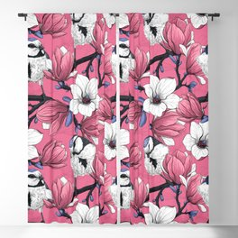 Spring time in pink Blackout Curtain